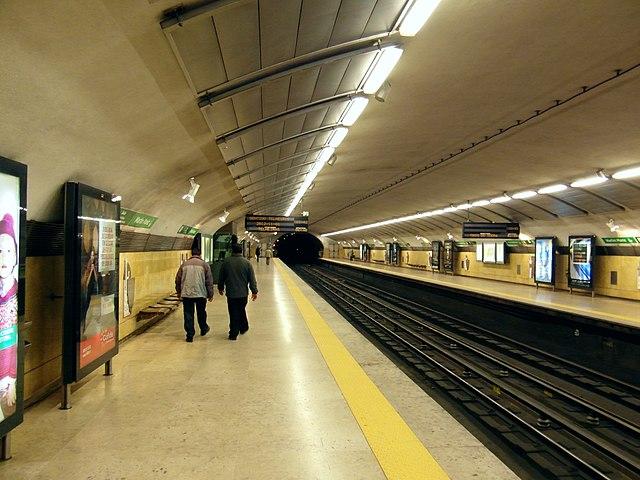 U-Bahnhof Martim Moniz