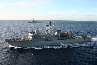 Mexican navy patrol vessel