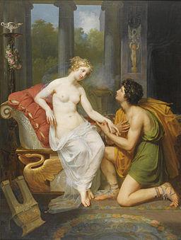 Meynier - Helen and Paris