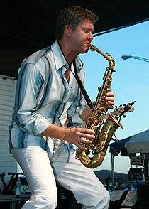Michael Lington at 2007 Guantanamo Bay JazzFest.jpg
