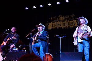 Jonathan Edwards (musician) - Jonathan Edwards, Michael Martin Murphey, and Gary Roller at The Flying Monkey, Plymouth, New Hampshire, October 13, 2012