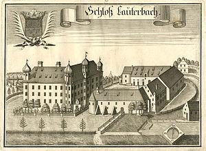 Schloss Lauterbach, Bavaria - Image: Michael Wening Schloß Lauterbach