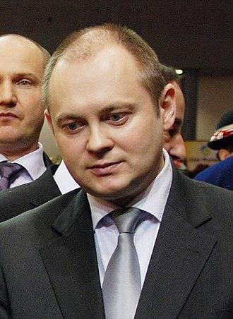 Czech Social Democratic Party leadership election, 2011 - Image: Michal Hašek 2011