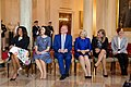 Michelle Obama and Spouses of Nordic leaders at White House.jpg