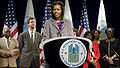 Michelle Obama speaks at HUD 2-4-09.jpg