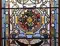 Middle Street Synagogue, Brighton (May 2013) - Stained Glass Window (Detail of Centre Panel).jpg