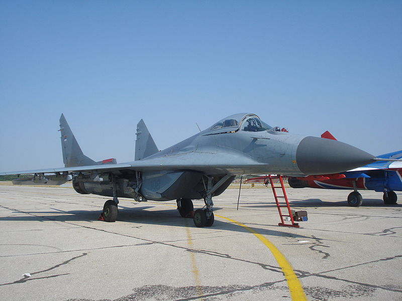File:Mig-29 Serbian Air Force.JPG