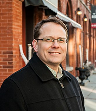 Green Party of Ontario - Image: Mike Schreiner Guelph Feb 2012