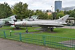 Mikoyan-Gurevich MiG-21F '01 red' (38837879871).jpg