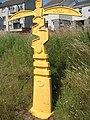 Millennium milepost, Drumgelloch Station - geograph.org.uk - 1218411.jpg