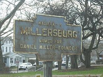 Millersburg, Pennsylvania - Image: Millersburg, PA Keystone Marker
