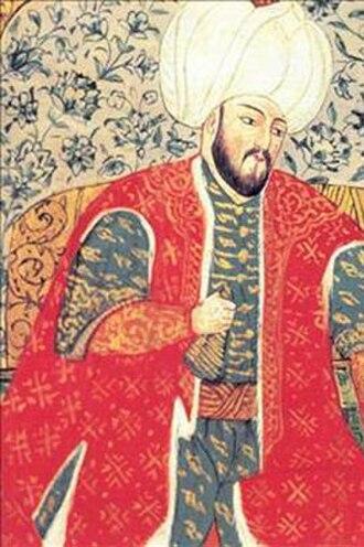 Şehzade Mustafa - An Ottoman miniature of Şehzade Mustafa