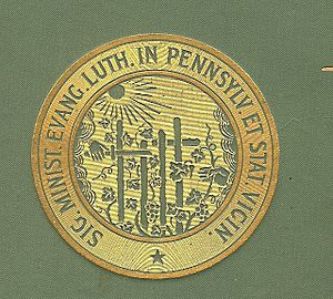 Pennsylvania Ministerium - Seal of the Pennsylvania Ministerium