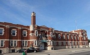 Minto Armoury - View of the Minto Armoury from the southeast of the building on St. Matthews.