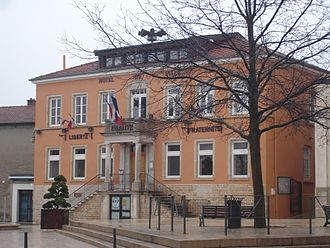 Mions - The town hall in Mions