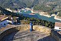 Mirador del castell amb telescopi, el Castell de Guadalest.JPG