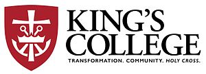 King's College (Pennsylvania) - King's College Mission Mark
