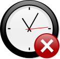 Modern clock chris kemps 01 with Octagon-warning.svg