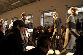 Modeshow januari 2013 in Parijs