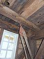 Molen Laurentia houten achtkant constructie katrol.jpg