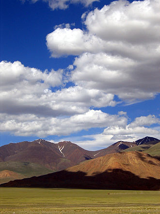 Agriculture in Mongolia - Mongolian landscape