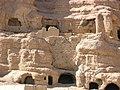 Monk Caves in Bamiyan Valley.jpg