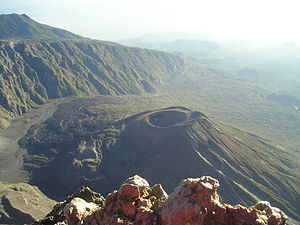 Mount Meru (Tanzania) - Image: Mont Méru vue sur Ash Cone