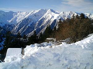 Guzet-Neige - Image: Montagnes guzet