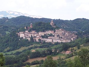 Panorama di Montefortino
