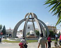 Monument centre ville Korba.jpg