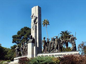 Parque Rodó - Monument to José Enrique Rodó in Parque Rodó