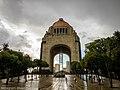 Monumento a la revolucion after a rainy day.jpg