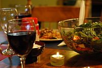 Moroccan salad and wine.jpg