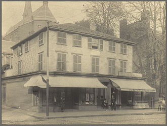 Samuel Morse - Birthplace of Morse, Charlestown, Massachusetts, c. 1898 photo