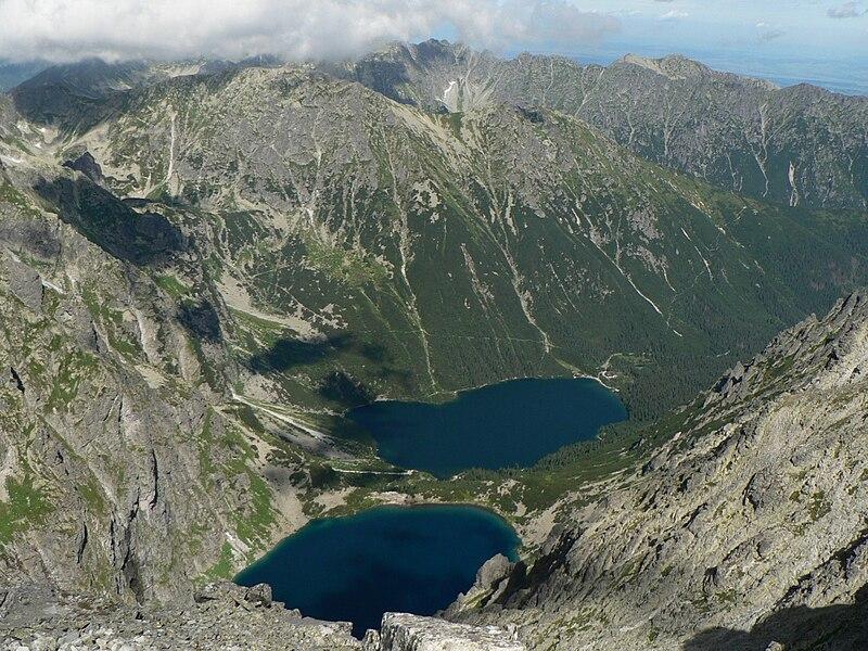 Góry w Polsce - Tartry