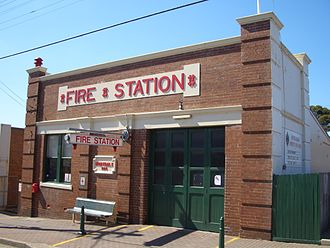Mortdale, New South Wales - Image: Mortdale Fire Station