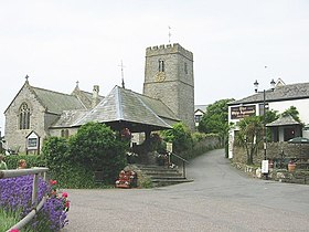 Mortehoe Church... and a nice pub^ - geograph.org.uk - 31818.jpg