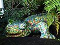 Mosaic lizard, Botanic Gardens, Belfast - geograph.org.uk - 1593495.jpg