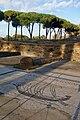 Mosaics of the Market Place, Ostia Antica (46088687224).jpg