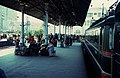 Moscow 1982 train station waiting on platform.jpg
