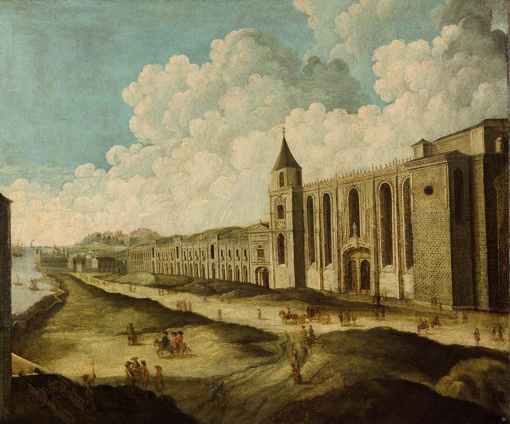 Mosteiro dos Jerónimos antes de 1755.png