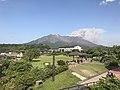 Mount Sakurajima from Sakurajima Lava Beach Park 2.jpg