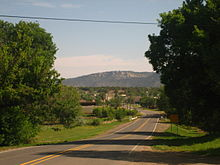 Mountain road west of Cimarron, NM IMG 0539.JPG