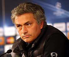 Mourinho During A Press Conference In 2010