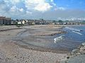Mouth of Carron Water at Stonehaven Bay, Kincardineshire.jpg