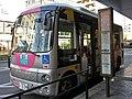 Mubus Sakai-Mitaka at Musashi-Sakai Station 02.jpg