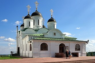 Russian architecture - Image: Murom Transfiguration monastery Transfiguration Cathedral IMG 9783 1725