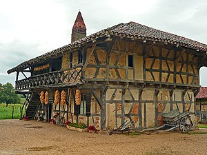 Bresse house - Bresse house and open-air museum in Courtes, in the French département of Ain