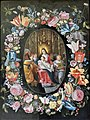 Musée d'art et d'archéologie du Périgord - École hollandaise du début du 17ième siècle - Vierge à l'Enfant dans une couronne de fleurs.jpg