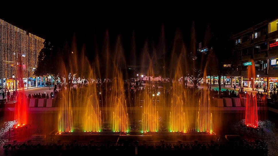 Musical Fountain, Sector 17, Chandigarh